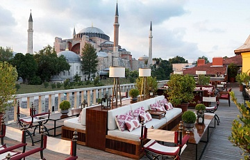 Стамбул  - отель Four Seasons at Sultanahmet 5* de luxe